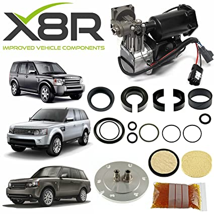 Amazon.com: HITACHI AIR COMPRESSOR & FILTER DRYER REPAIR KIT FOR LAND ROVER LR3 DISCOVERY 3 X 8R44: Automotive