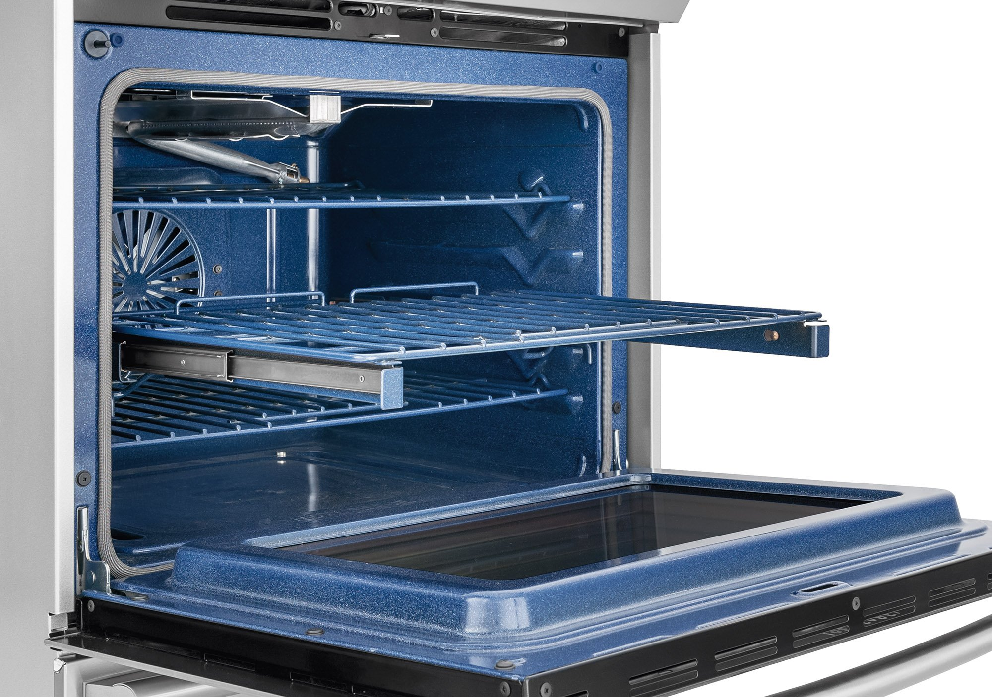 Electrolux EW30GS80RS 30'' Star K ADA Compliant Gas Slide-In Range Oven with 5 Sealed Burners 4.5 cu. ft. Oven Capacity Continuous Grates and Luxury-Glide Oven Rack in Stainless by Electrolux (Image #3)