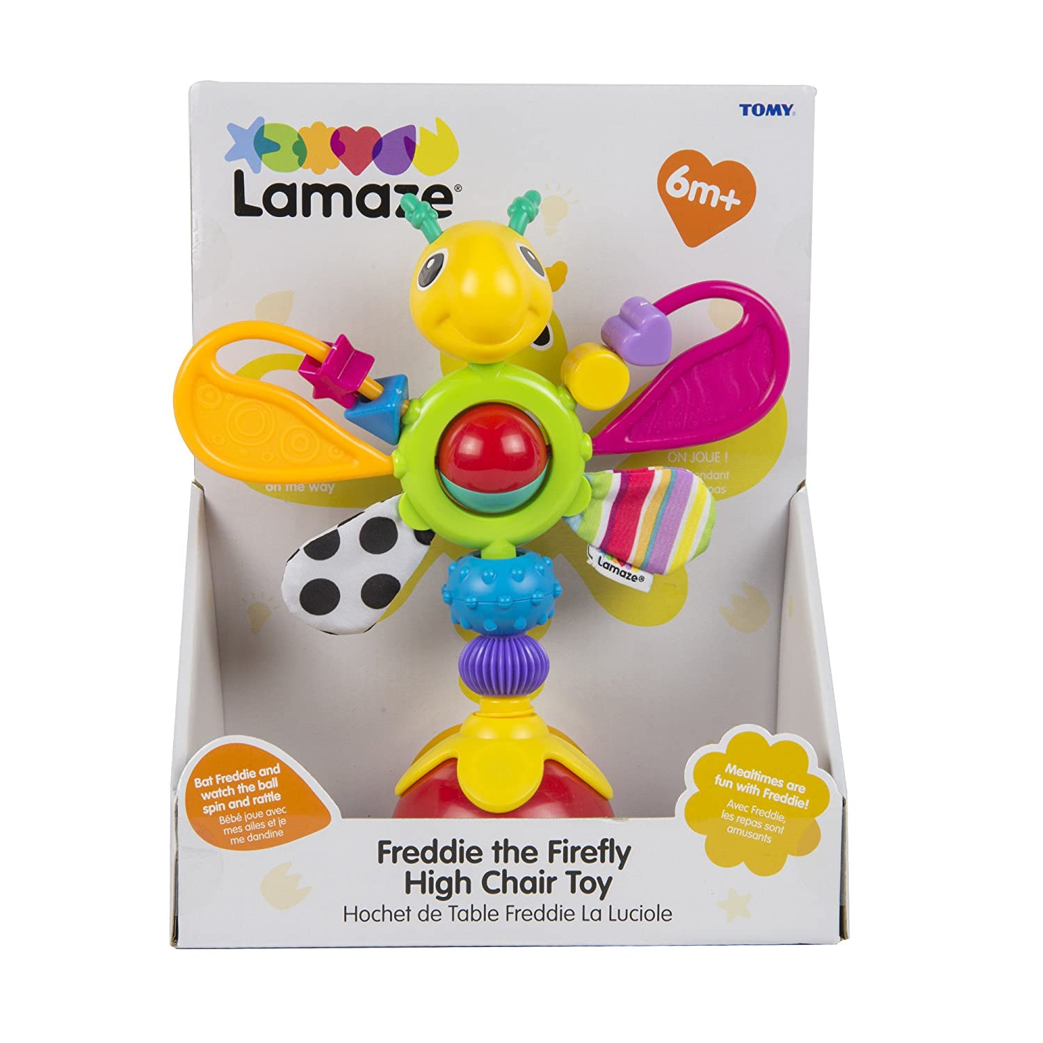 Lamaze Fred The Firefly High Chair Toy Amazon Baby