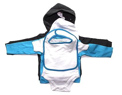 Baby Juego de regalos recién nacido Juego Niño/Niña 0 - 3 meses azul ...