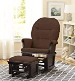 Lennox Contemporary Style Glider Chair and