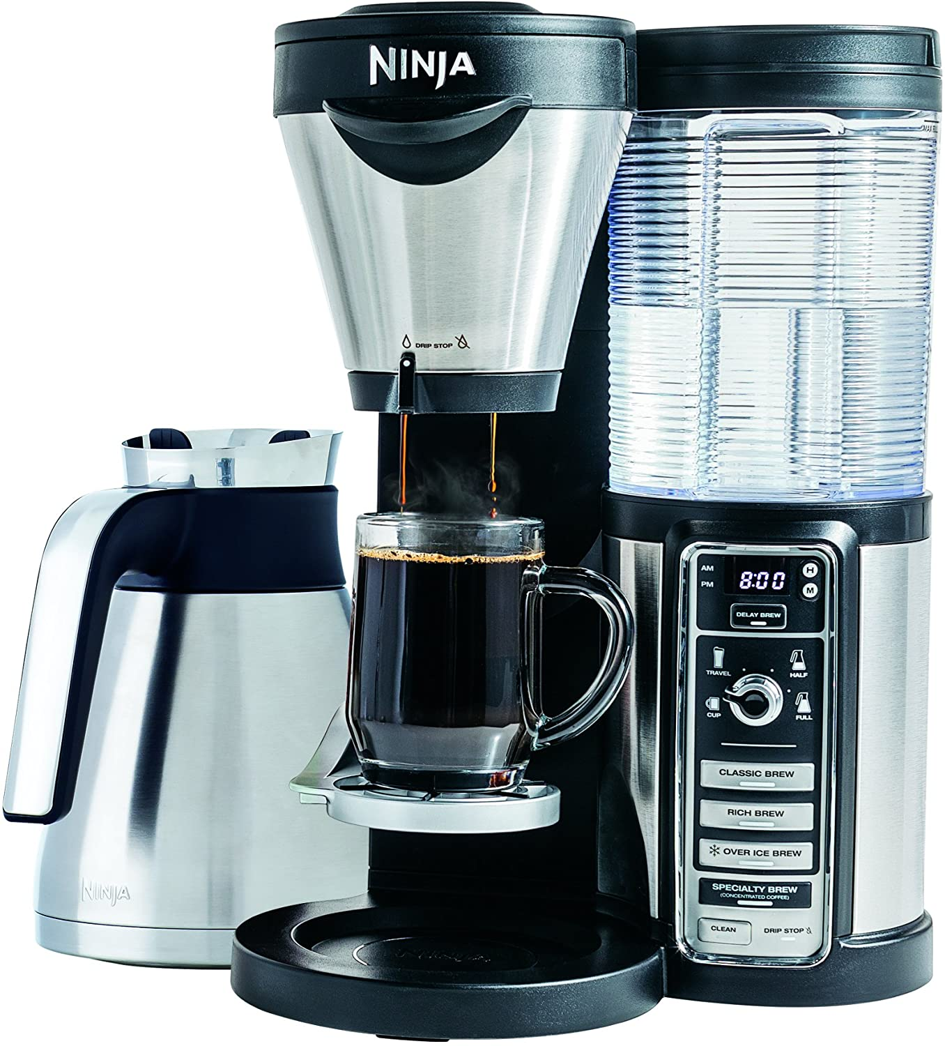 Amazon.com: Ninja Coffee Bar Garrafa para cafetera, Negro ...