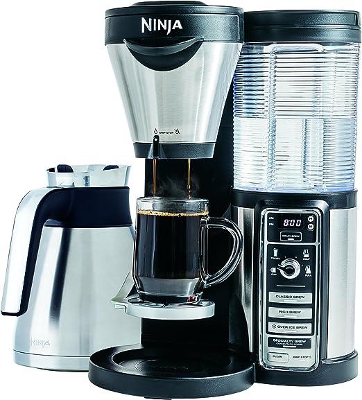 Amazon.com: Ninja Coffee Bar Garrafa para cafetera, Negro ...