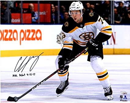 check out f821b 99df9 Charlie McAvoy Boston Bruins Autographed 16