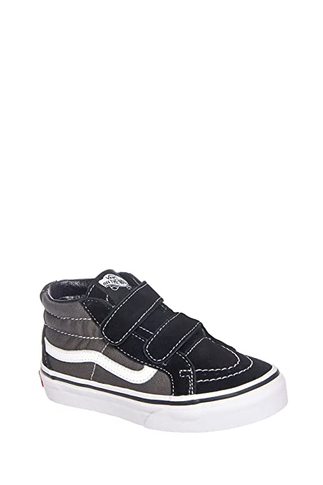 Vans Kids K SK8 MID Reissue V Black Charcoal Size 12  Amazon.ca ... 372a75b00