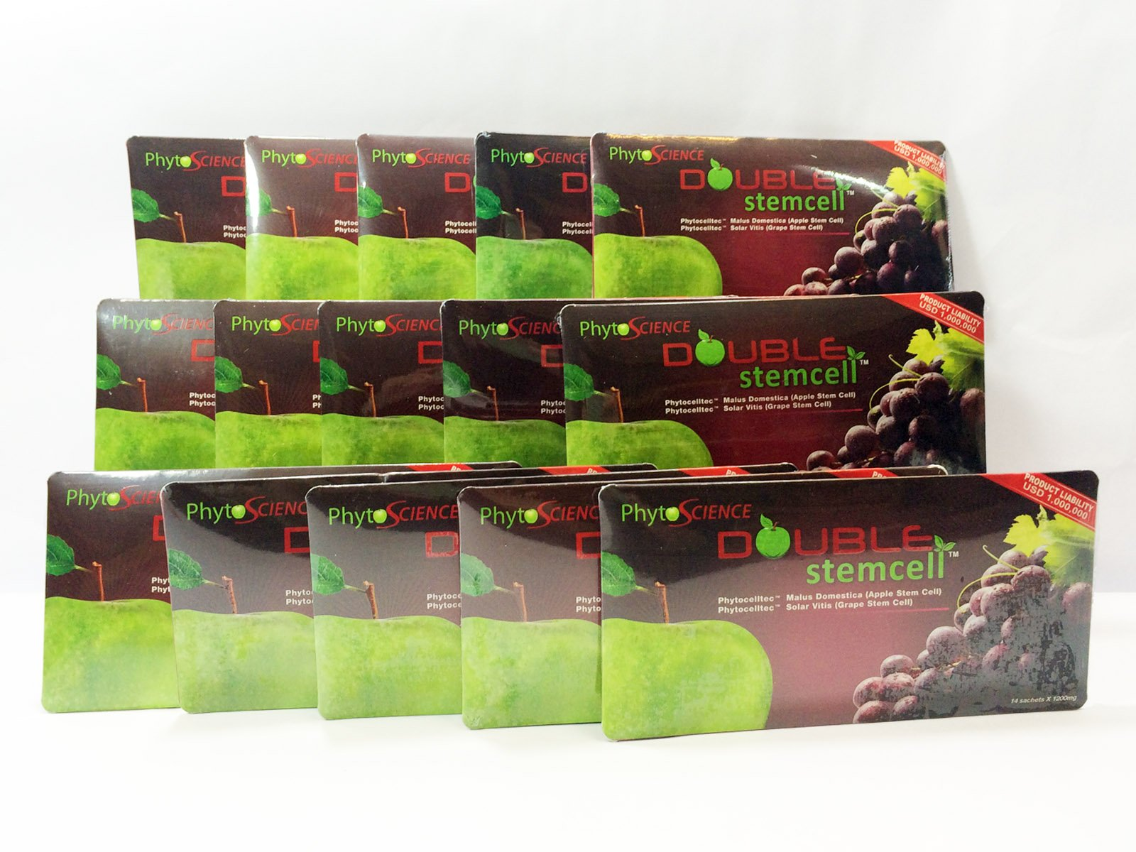 (Swiss quality Formula) 15x Phytoscience PhytoCellTec Apple Grape Double StemCell stem cell anti aging