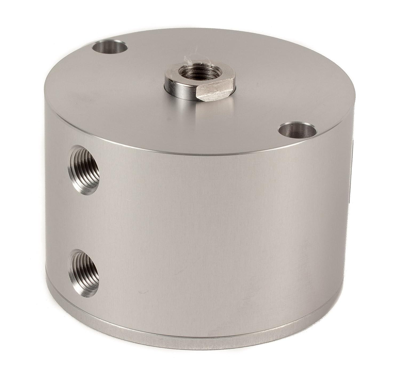 Fabco-Air C-221-X Original Pancake Cylinder, Double Acting, Maximum Pressure of 250 PSI, 1-5/8' Bore Diameter x 3/4' Stroke