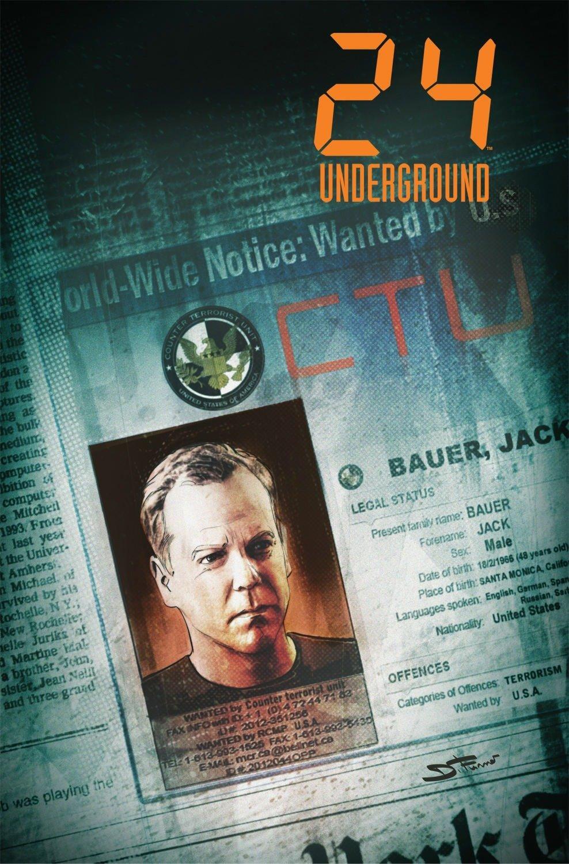 24: Underground by IDW Publishing