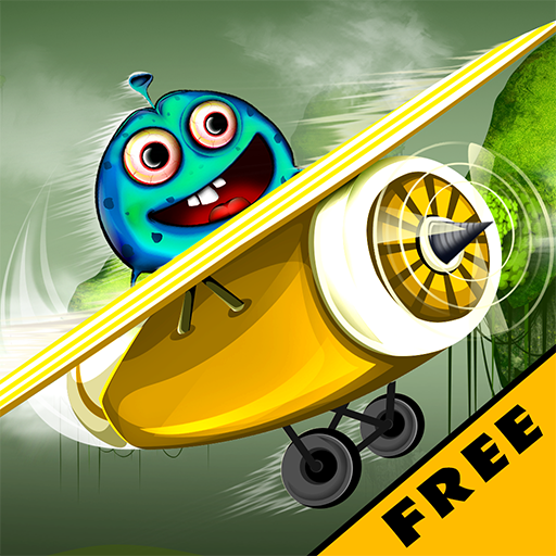 Sky Monster Adventure : The Airport Plane Flight Under Radar - Free]()