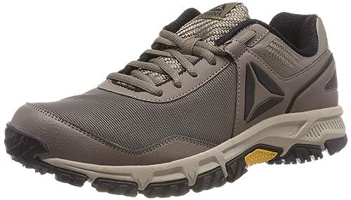 e7ffd777a89 Reebok Ridgerider Trail 3.0, Botas de Senderismo para Hombre, Gris Trek  Khaki/Coal/Ash Grey/Collegiate Gold, 47 EU: Amazon.es: Zapatos y  complementos