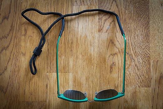 The Friendly Swede occhiali sportivi del cinturino (4pezzi), Black