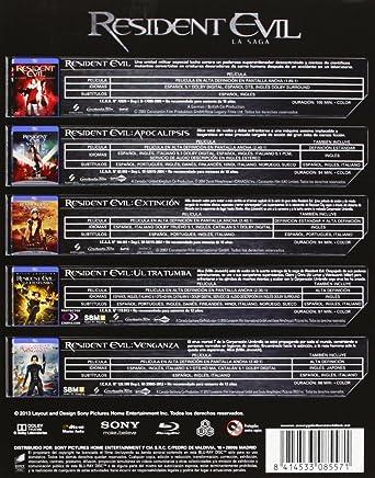 Resident Evil / Resident Evil Apocalipsis / Resident Evil ...