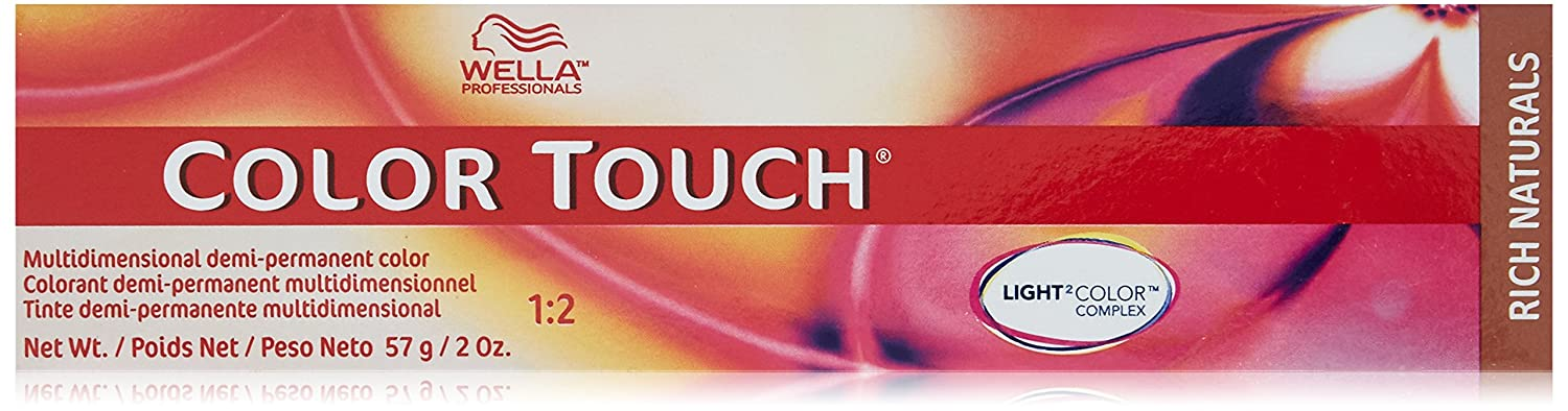 Wella Touch Hair Color, 8/81 Light Blonde/Pearl Ash, 2 Oz 070018002341