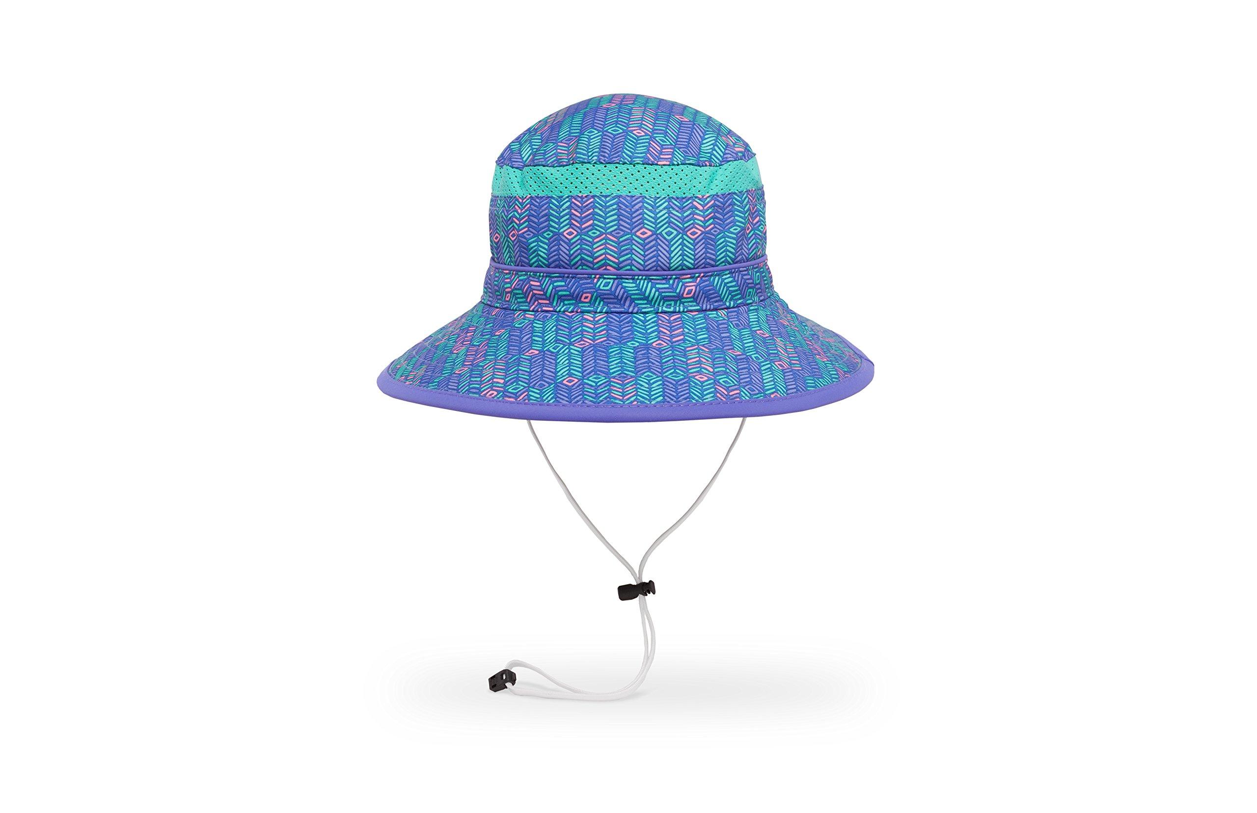 Sunday Afternoons Kids Fun Bucket Hat, Purple Arrow/Iris, Small