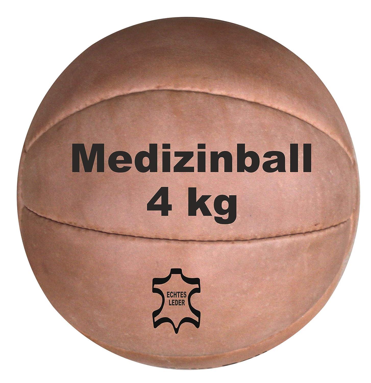 Balón medicinal de piel auténtica (de 1,5 kg): Amazon.es: Deportes ...