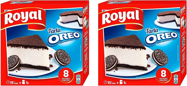 Royal Tarta Oreo 215 gr. - [Pack 2]: Amazon.es: Alimentación y bebidas