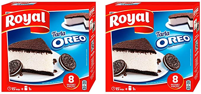 Royal Tarta Oreo 215 gr. - [Pack 2]