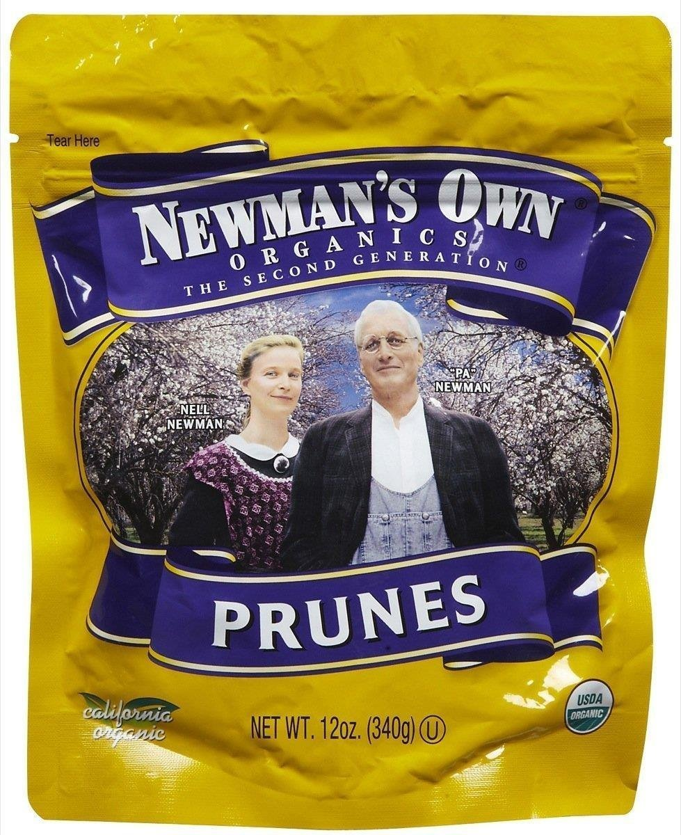 Organic Pitted Prunes 12 Ounces (Case of 12) by Newman's Own