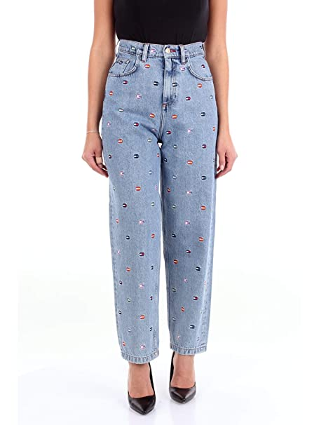 Tommy Hilfiger RW0RW01046 Pantalones Vaqueros Mujer Blue ...