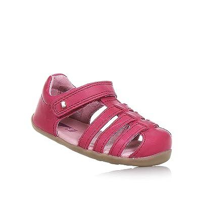 Bobux Step Up Jump Sandal Dark Pink 723420