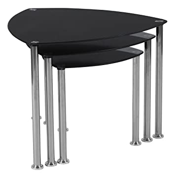 Amazon.com: flash furniture Pacific alturas mesas rodar de ...