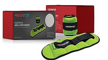Zoomsta - Pesas de tobillo para mujeres y hombres, para correr ...