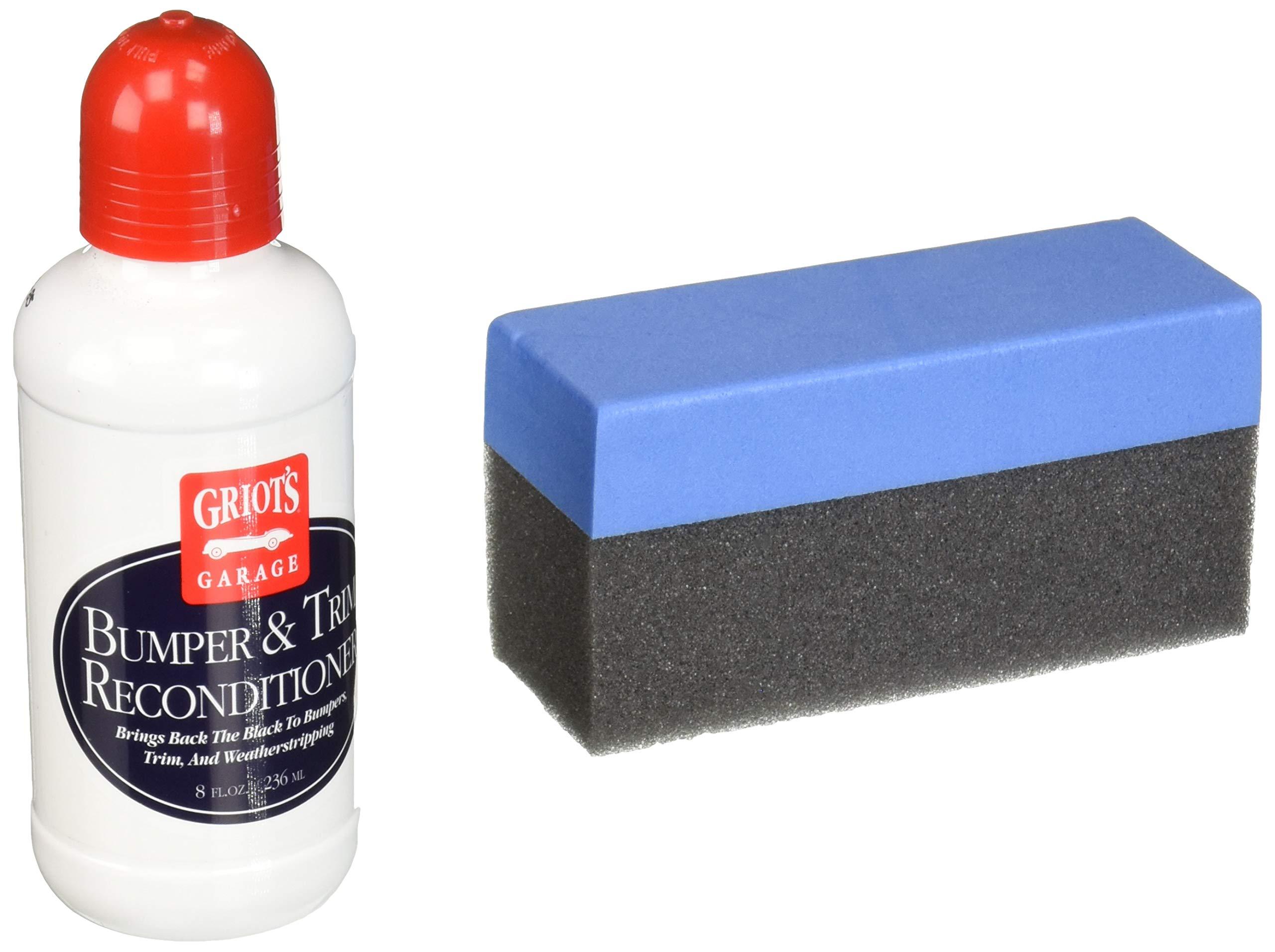 Griot's Garage 11016 Black Bumper and Trim Restorer 8oz