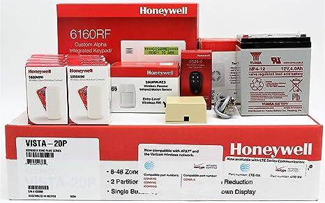 Amazon com: Honeywell Vista 20P, 6160RF Keypad, (10