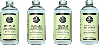 product image for JK Adams Mineral Oil Wood Conditioner 8 Ounce Bottle, Set of 4