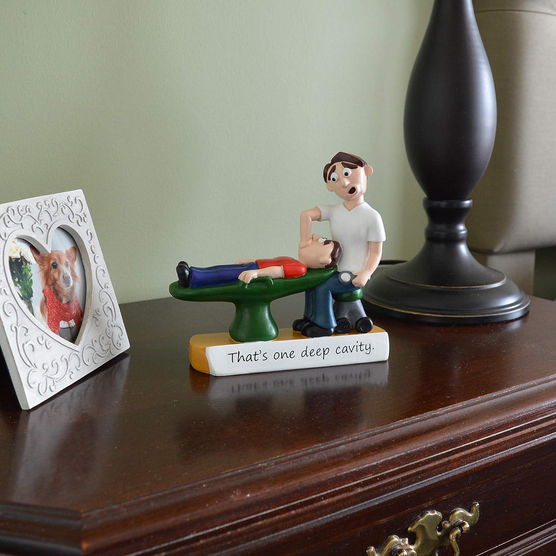 /Figurine/ Coque Creations Gifts/ /Orthodontist et Dentiste Cadeau Deep Cavity Dentist /Peinte /à la Main Sculpture/