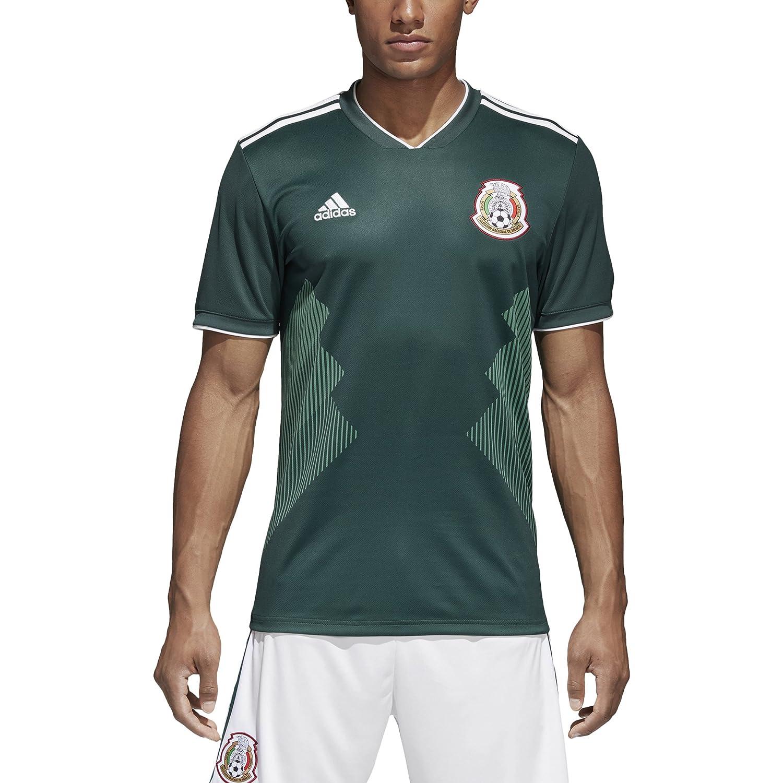 e78633de94 Amazon.com   adidas Mexico 2018 Home Replica Jersey   Sports   Outdoors