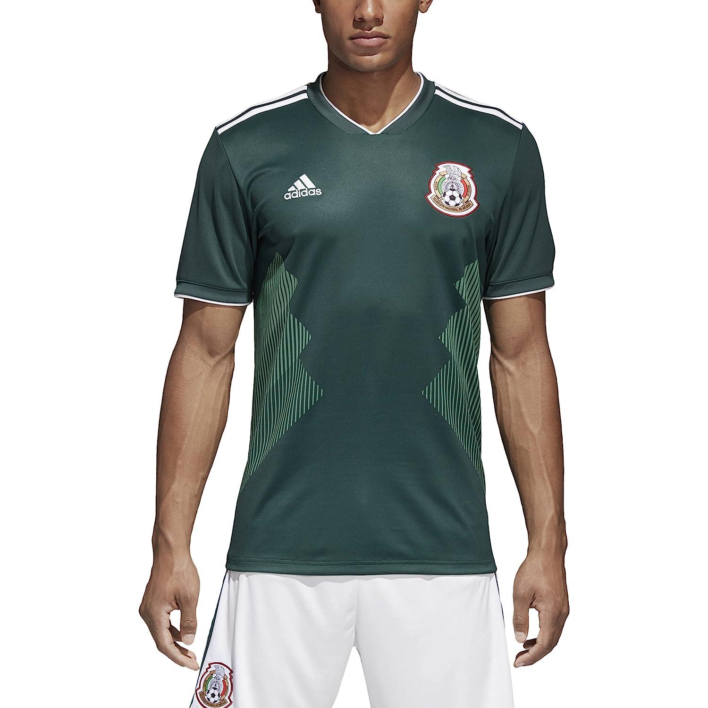 Amazon.com   adidas Mexico 2018 Home Replica Jersey   Sports   Outdoors 1fa6ce82c986b