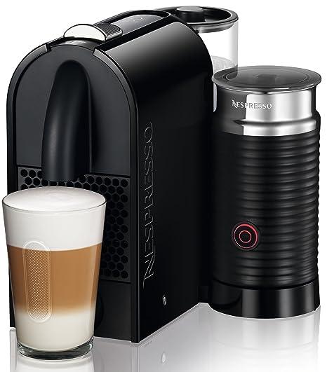 DeLonghi EN 210.BAE - Cafetera monodosis, 19 bares, máquina táctil, depósito modular, color negro