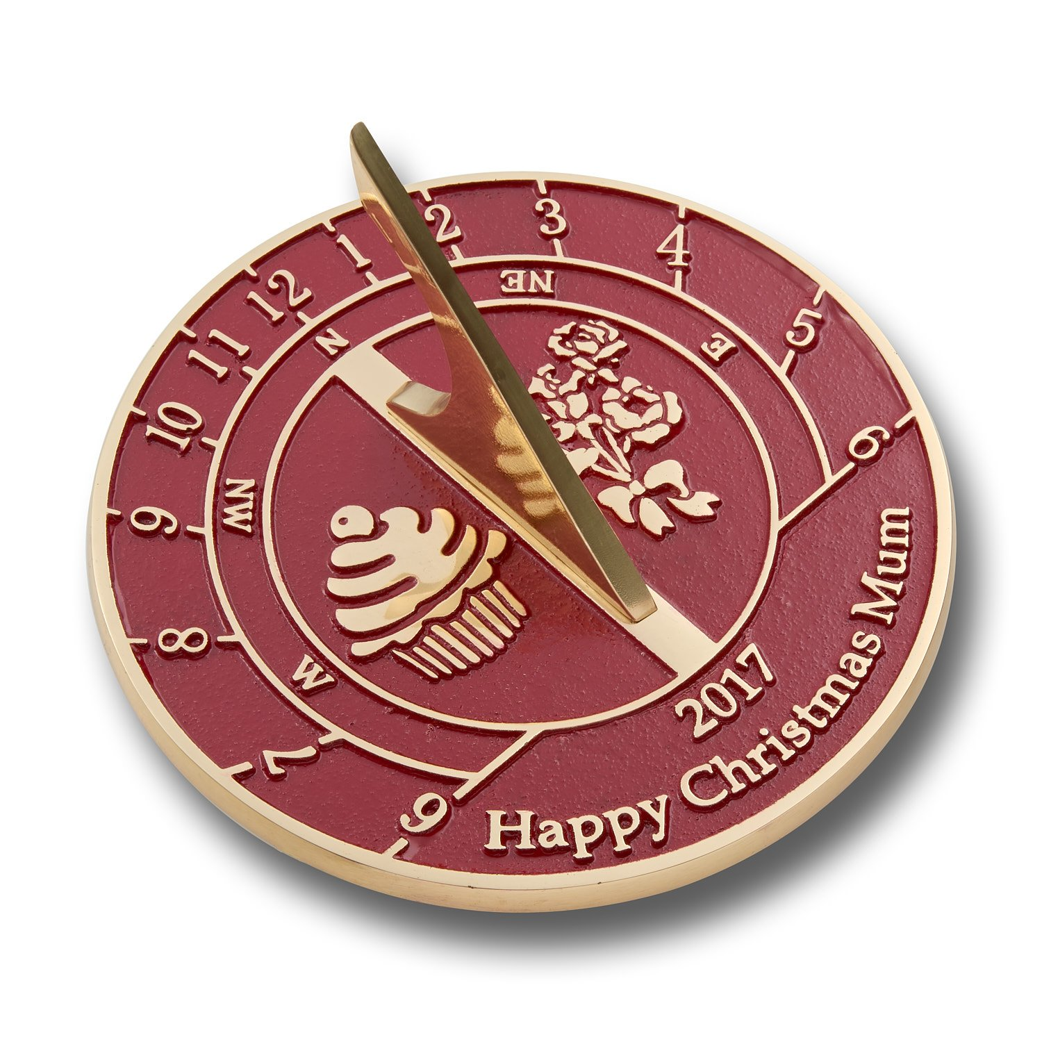 Special Christmas Gift For Mum. This Unique Sundial Would Make A Great Gift For Any Special Women In Your Life. Handmade By The Metal Foundry UK
