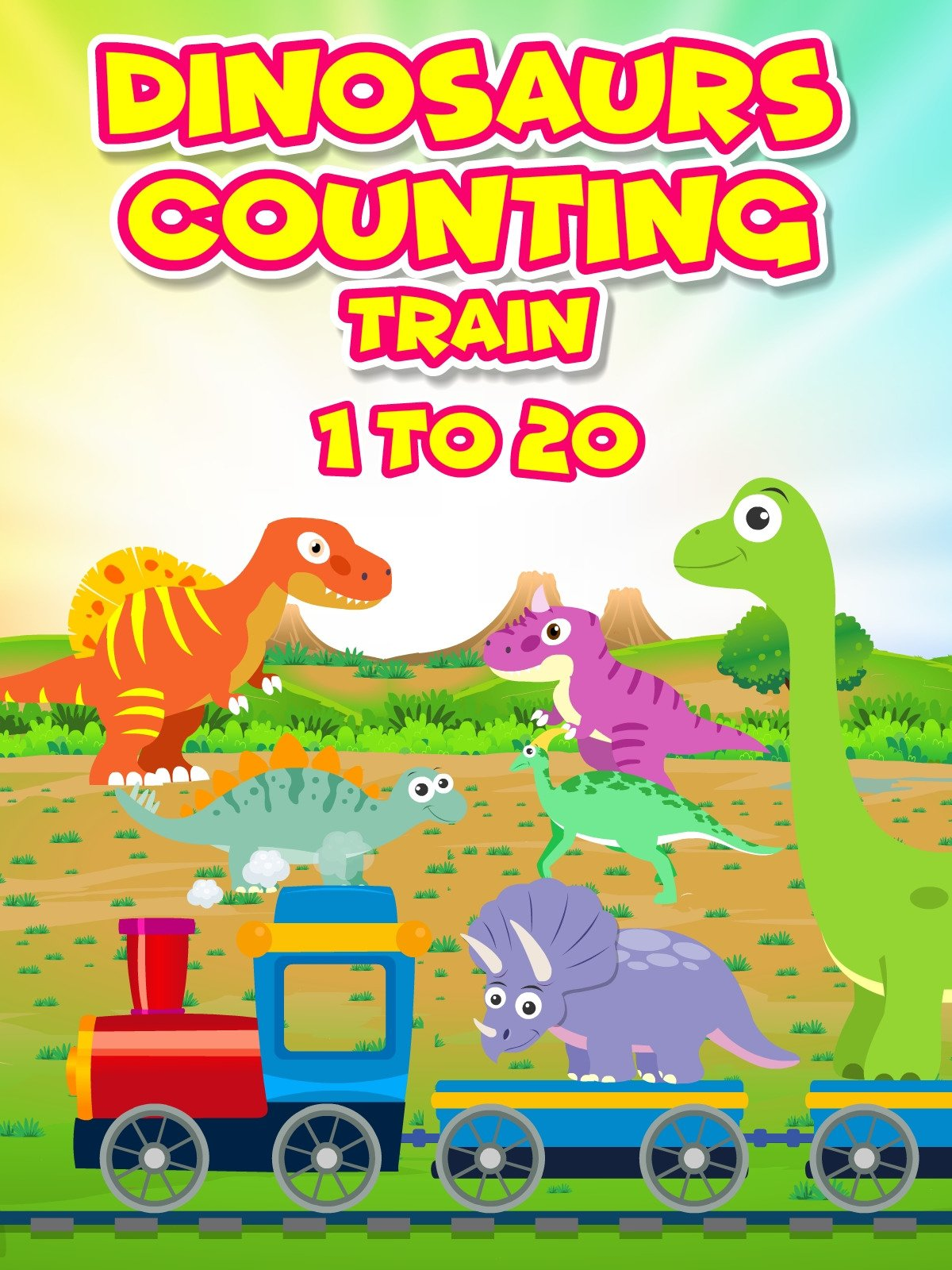 Dinosaurs Counting Train 1 to 20 on Amazon Prime Video UK