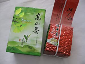 Taiwan Alishan (Ali-Mountain) Green Tea -- Taiwan High Mountain Grown Tea Premium Quality