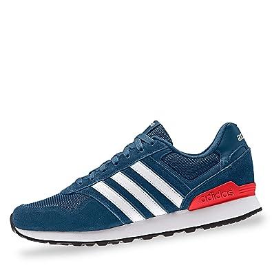 adidas Herren 10k Laufschuhe, Blau Legend Marine FTWR White Active Red, 39 8c0f392689