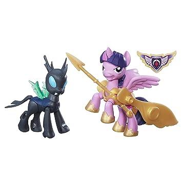 Changeling Figuren Neu Hasbro B6009 My Little Pony Princess Twilight Sparkle vs