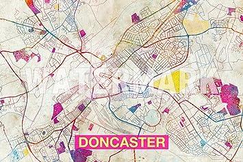 Amazon.com: Best Quality Prints Doncaster (England, UK) Artistic ...
