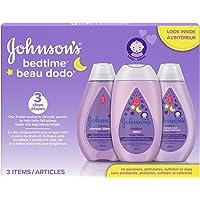 Johnson's Baby bedtime gift set, 3 count