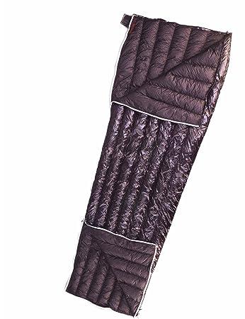 AEGISMAX UrltraLight Goose Down Sleeping Bag Envelope For Backpacking With Compression Sack Black