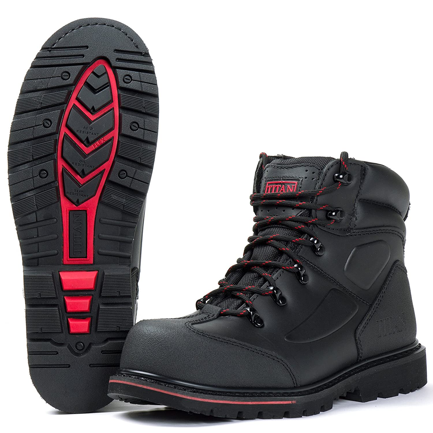 9107dee107e Tigerbox® Titan Welt Boot with Scuff Cap S3 with Goodyear Welted ...