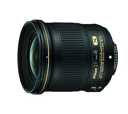 amazon com nikon af s fx nikkor 24mm f 1 8g ed fixed lens with