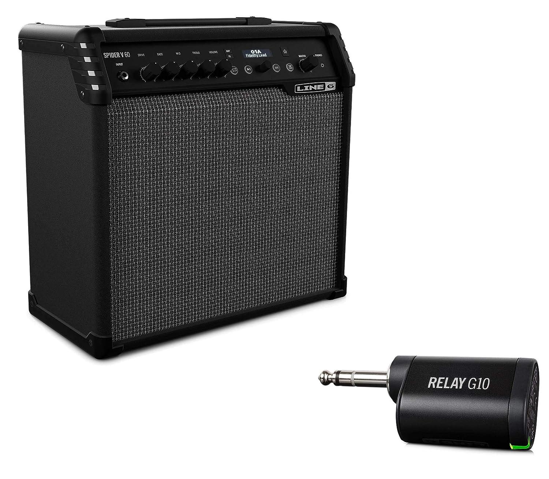 【最安値挑戦】 Line 60W 6 ギターアンプ Spider V 60 B072MGRLMQ ワイヤレスパック 60 60W B072MGRLMQ, インザイシ:a6419c76 --- a0267596.xsph.ru