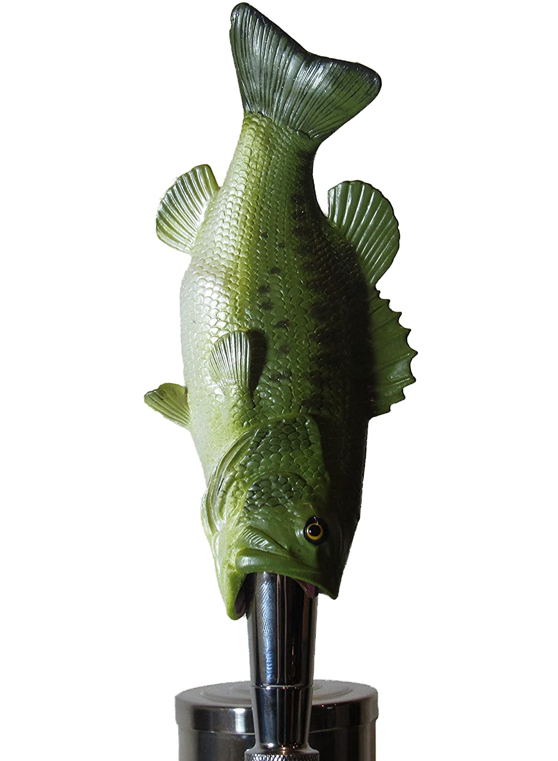 Large Mouth Bass Beer Tap Handle Sports Bar Kegerator Breweriana Nor Cal Speed