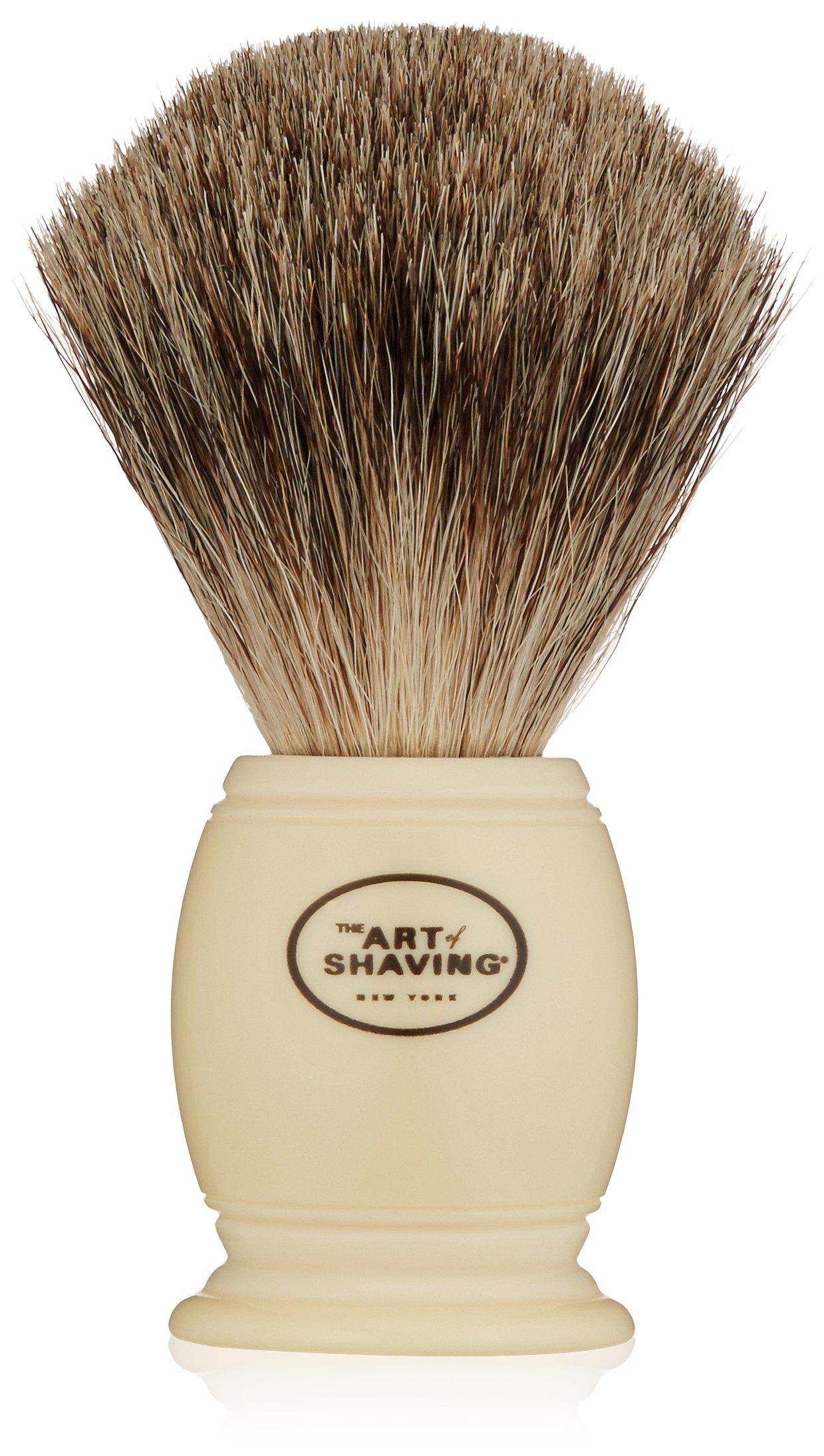 The Art of Shaving Men's Pure Badger Shaving Brush, Ivory by The Art of Shaving