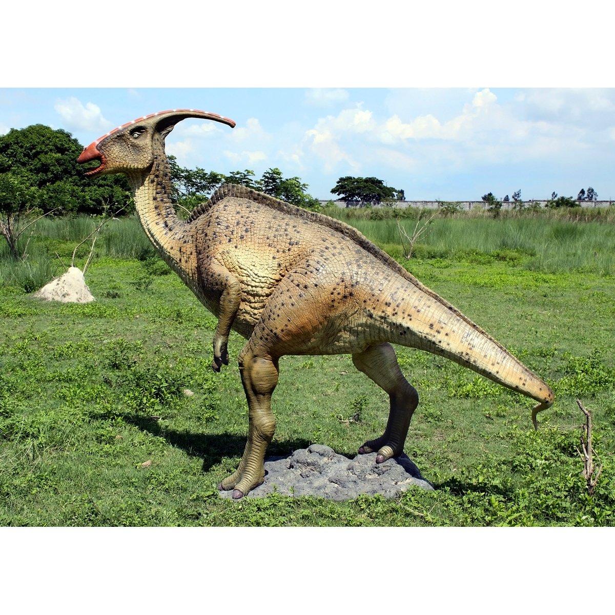 Amazoncom Design Toscano Parasaurolopus Dinosaur Statue