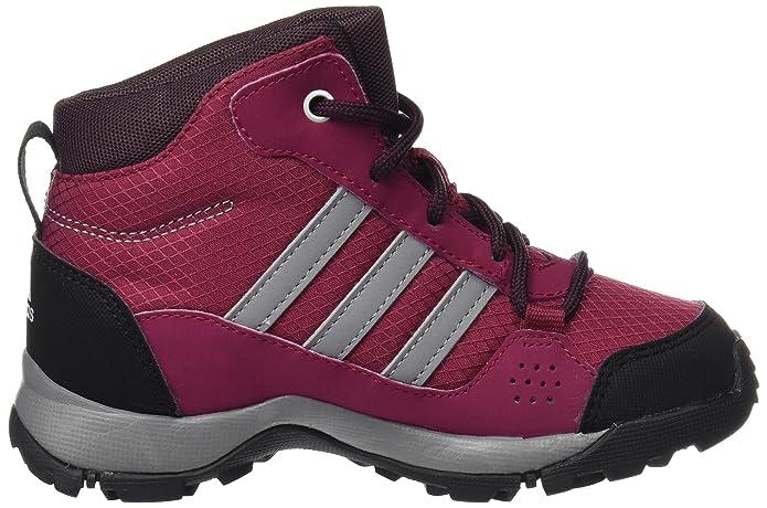 adidas Unisex-Kinder Hyperhiker K Trekking-& Wanderstiefel, Mehrfarbig (Rubmis/Gritre/Borosc), 36 EU