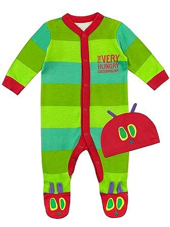 nuovo stile di molto carino prezzo abbordabile The Very Hungry Caterpillar Tutina da Notte e Cappello per Bambino Il  Piccolo Bruco maisazio