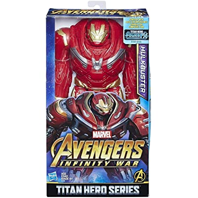 Marvel Infinity War Titan Hero Series Hulkbuster with Titan Hero Power FX Port: Toys & Games